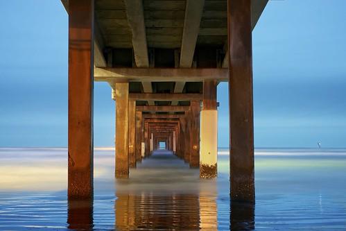 longexposure reflection beach water pier corpuschristi sony bobhallpier