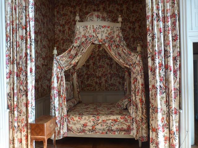 Interior del castillo de Chambord (Valle del Loira, Francia)
