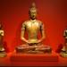 The Buddha Amitayus with the Buddhist disciples Ananda and Kashyapa