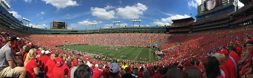 2016 wisconsin greenbay iphone iphone6s project365 project366 panorama lambeaufield wisconsinbadgers lsutigers football stadium