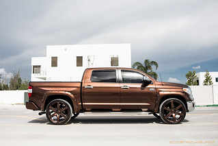 Toyota Tundra on CW-6 Custom Color Matched | by Concavo Wheels
