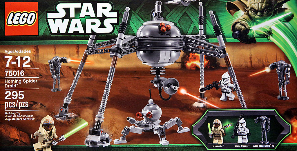 Lego Star Wars 75016 Homing Spider Droid Lego Star Wars Flickr