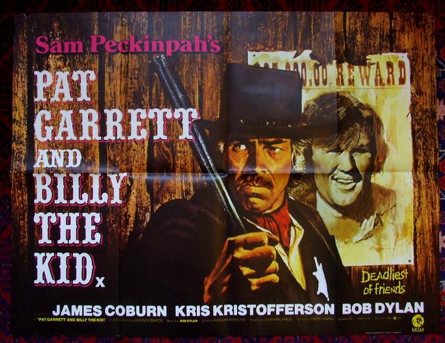 Pat Garrett & Billy The Kid - UK Quad Original Film Poster - 1973