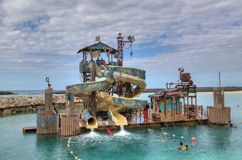 Waterslide at Castaway Cay | by Photomatt28