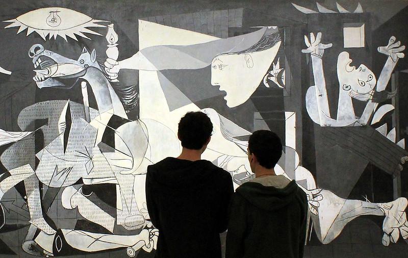 MADRID / Museo Nacional Centro de Arte Reina Sofía, Guernica de Picasso (20/02/2013)