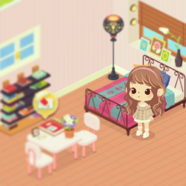 LINEplay #thesims #alike #good #games #apps #cute #comfy
