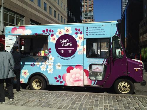 Bian Dang truck (@biandangnyc) at WFC Food Truck Court   by larryleenyc