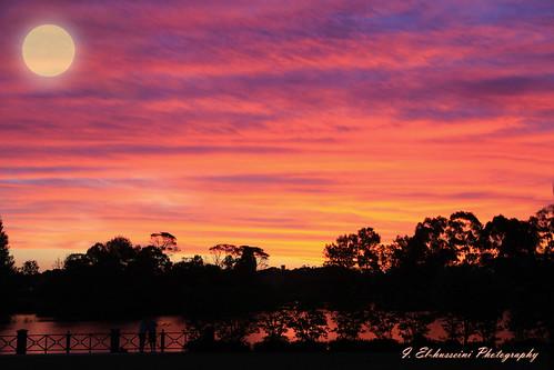 longexposure sunset seascape beautiful canon landscape photography vibrant sydney vivid australia leefilters 5dmkiii wattlegrovelake
