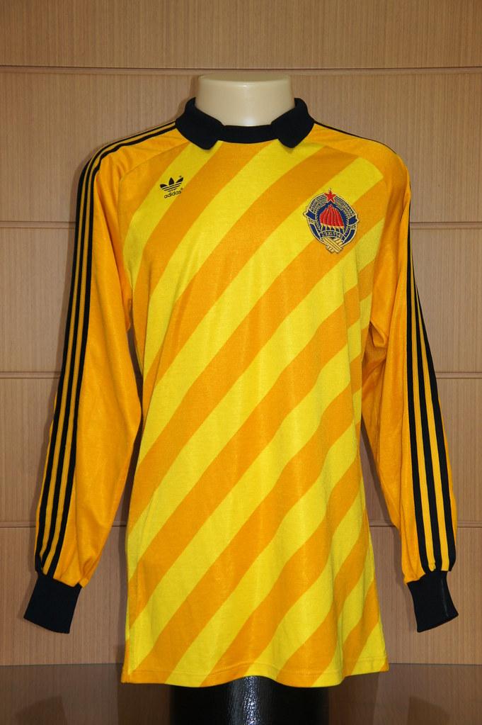 446316d5738 ... Yugoslavia – 1984 1985 goalkeeper shirt (match worn)