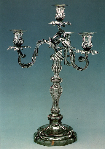 Candelabro Thomas Germain | by ourivesaria