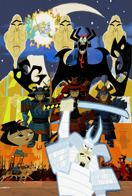 Timbox's Fanmade Tribute to Samurai Jack Birth of Evil 02