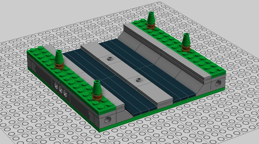 LEGO Micropolis Interstate - LDD | LEGO Micropolis Interstat