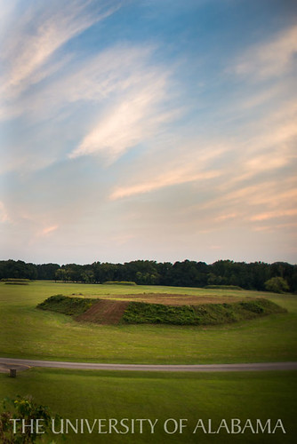 Moundville in the Evening