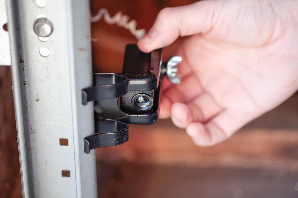 Garage Door Safety Sensor Installation And Testing For Rev