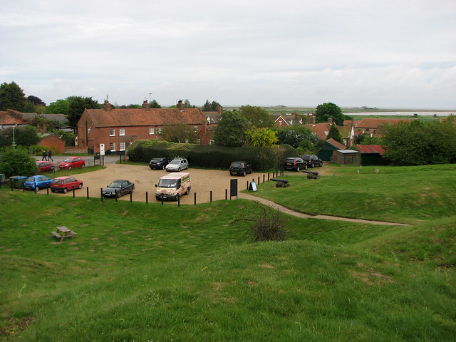 Orford from Orford Castle