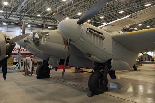 De Havilland Mosquito at the CASM, Ottawa