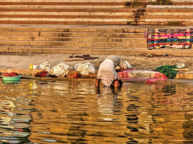 En el Ganges.