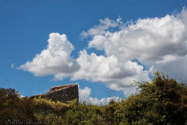 Las nubes ...
