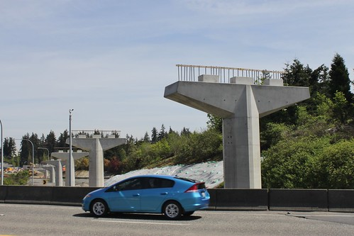 East Link crossing of 148th Avenue