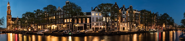 Amsterdam Twilight Pano