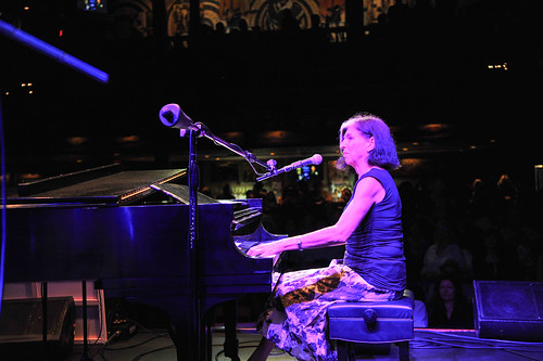 Marcia Ball at WWOZ's 30th Annual Piano Night - April 30, 2018. Photo by Michael E. McAndrew Photography.