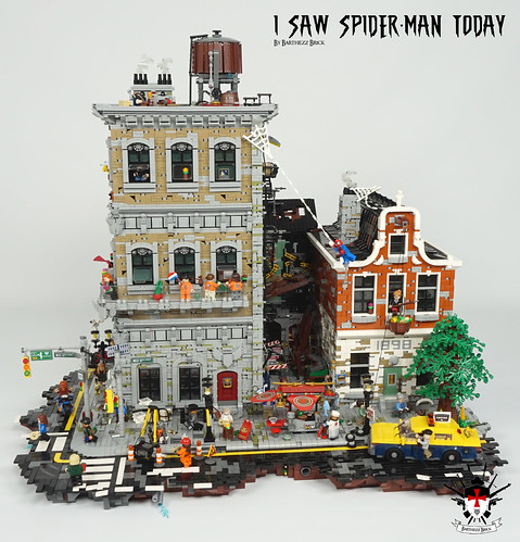 I Saw Spider-Man Today By Barthezz Brick 3 | by Barthezz Brick