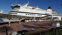 Viking Cinderella at the pier in Mariehamn