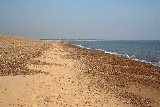 The beach near Walberswick