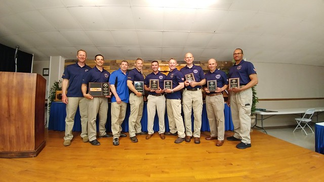 USAR Service Conditions Team at awards ceremony