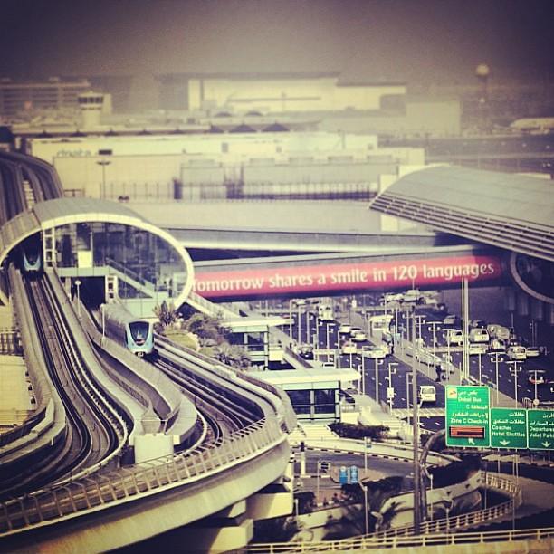 Dubai Airport, Terminal 3 #vvipdubai #dubai #metro