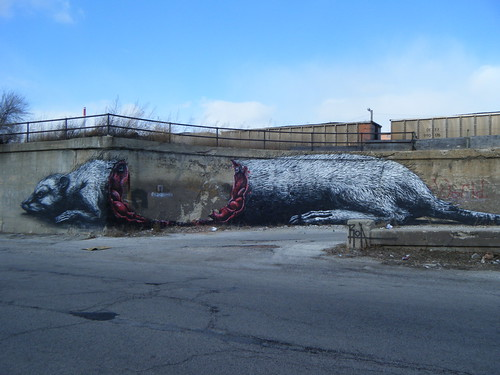 Wounded rat mural | by Preetha & James
