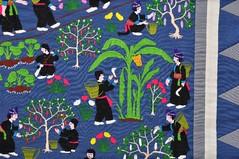 2013. február 28. 11:34 - Hmong textilkép (20. század 2. fele)  (Fotó: Sarnyai Krisztina)
