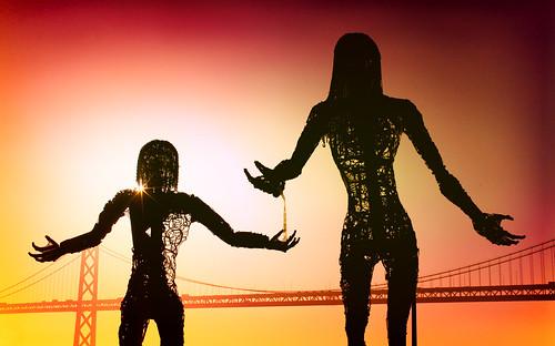 sanfrancisco california bridge sculpture usa art sunrise unitedstates fav50 10 contemporaryart unitedstatesofamerica fav20 burningman baybridge embarcadero passage fav30 blackrock dandasmann karencusolito fav10 fav25 fav40 fav60 fav70 superfave