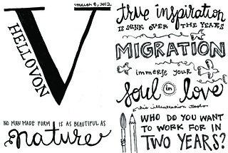 2012 Sketchnotes + Von   by erinmhawkins