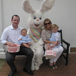 Berto, Susanne, Addie Gray, Louise and the Easter Bunny!
