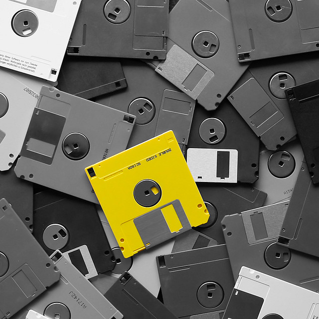 Yellow Diskette