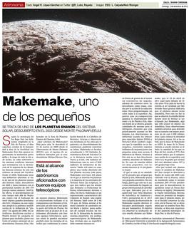 Zoco Astronomía: Makemake, uno de los pequeños | by Ángel López-Sánchez