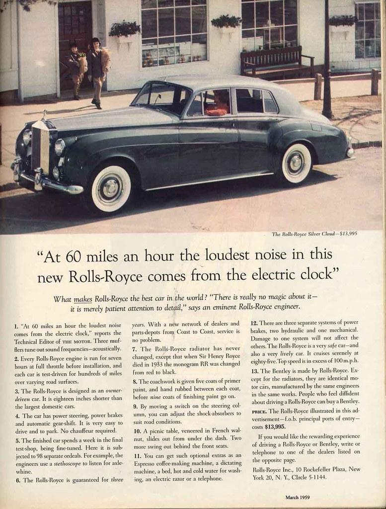 David Ogilvy's best remembered ad