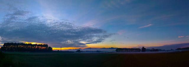 Canterbury Port Hills - Sunrise