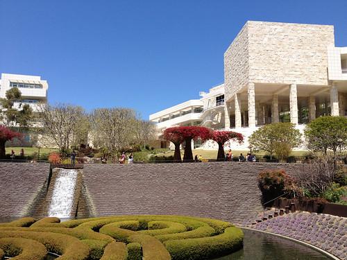 Getty Central Garden #1