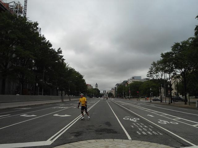 Patinaje/Rollerblading, Pennsylvania Avenue, Washington DC, USA - www.meEncantaViajar.com