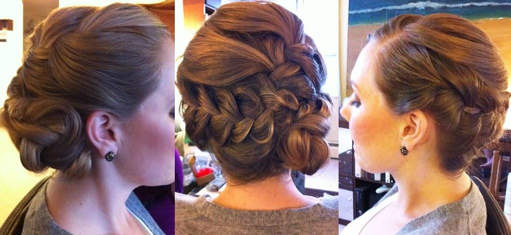 Braided Updo Wedding Hair Elegant Modern Victoria Flickr
