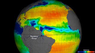 NASA's Aquarius Sees Salty Shifts | by NASA Goddard Photo and Video