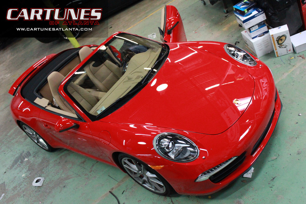 Car Tunes Atlanta: Porsche Laser Defense System