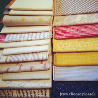 Marcelle Medallion fabrics | by Two Cheese Please