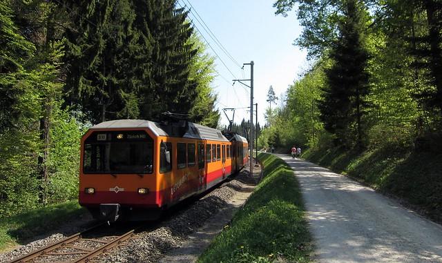 Uetlibergbahn Zurich Switzerland 2011