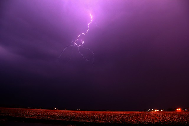 032913 - Our 1st Severe Thunderstorms in South Central Nebraska