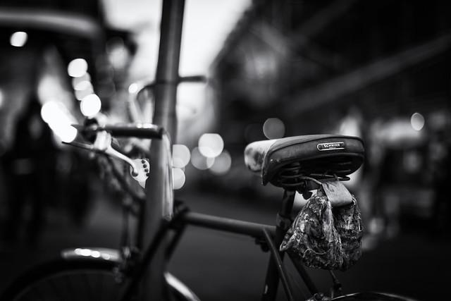 Bike, Bokeh, and Bourbon Street - Explored