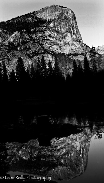 Yosemite Symmetry BW