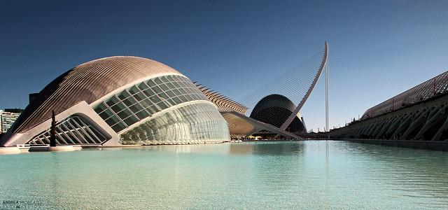 L'Hemisfèric, Ciudad de las Artes y las Ciencias - València, Spain